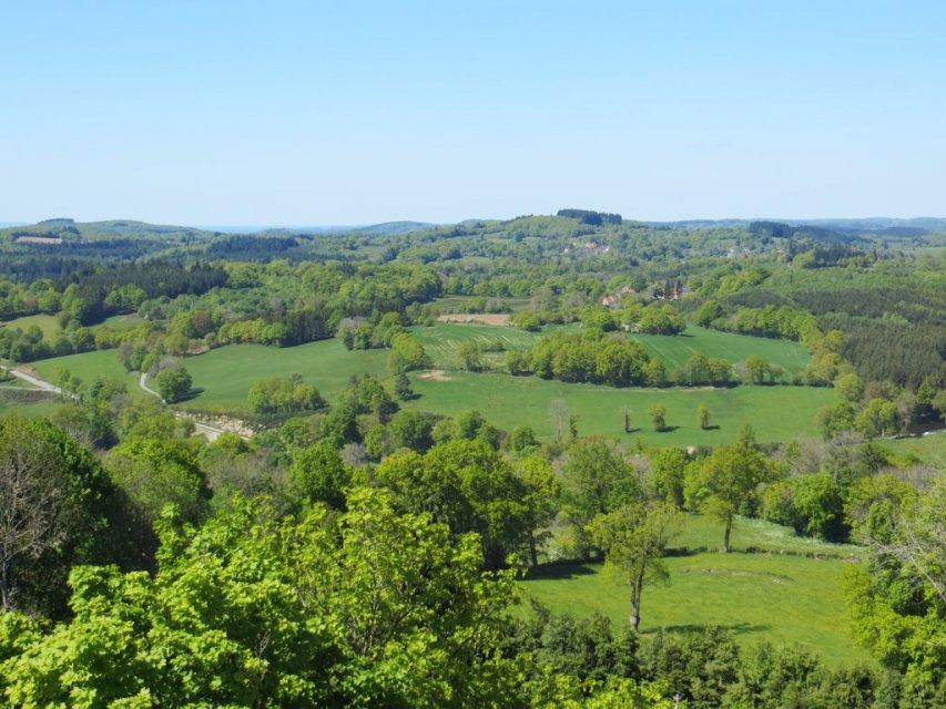 Randonnée à Crocq - Randonnée Creuse - Randonnée Limousin
